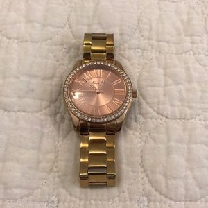 Kenneth Cole rose gold watch